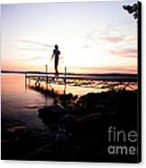 Evanesce - I'm Not Here Canvas Print by Venura Herath