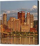 Evening Panorama Canvas Print by Jennifer Grover
