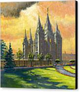 Evening Splendor Canvas Print by Jeff Brimley