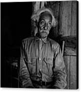 Ex-slave Bob Lemmons Was Born Canvas Print by Everett