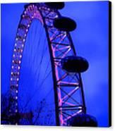 Eye Of London Canvas Print by Roberto Alamino