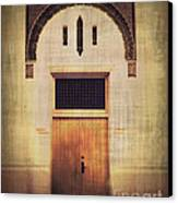 Faded Doorway Canvas Print by Perry Webster