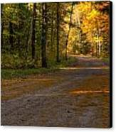 Fall Is Just Around The Corner Canvas Print by Thomas Young