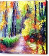 Fall Melody Canvas Print by Marilyn Sholin