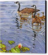 Family Outing Canvas Print by Jeff Brimley