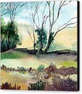 Far Beyond Canvas Print by Anil Nene