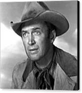Far Country, The, James Stewart, 1955 Canvas Print by Everett
