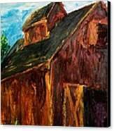 Farm Barn Canvas Print by Scott Nelson