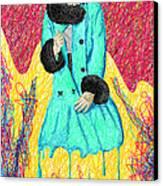 Fashion Abstraction De Eliana Smith Canvas Print by Pierre Louis