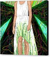 Fashion Abstraction De Jeff Hanson Canvas Print by Kenal Louis