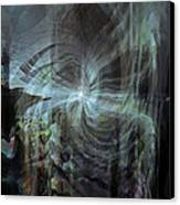 Fear Of The Unknown Canvas Print by Linda Sannuti