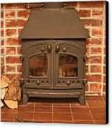 Fireplace Canvas Print by Tom Gowanlock