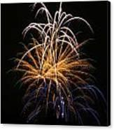 Fireworks 6 Canvas Print by Paul Marto