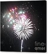 Fireworks Canvas Print by Dyana Rzentkowski