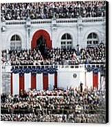 First Inauguration Of Bill Clinton Canvas Print by Everett