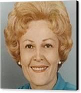 First Lady Patricia Nixon 1912-1993 Canvas Print by Everett