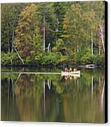 Fish Creek Pond In Adirondack Park - New York Canvas Print by Brendan Reals