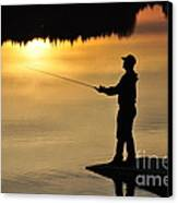 Fisherman Canvas Print by Conny Sjostrom