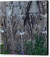 Flora Among The Ruins Canvas Print by Joyce Hutchinson