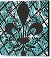 Florentine Fleur Ginger T Canvas Print by Julia Forsyth