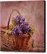 Flower Basket Canvas Print by Judi Bagwell