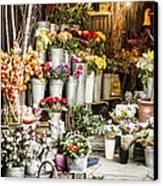 Flower Shop Canvas Print by Heather Applegate