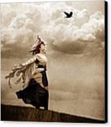 Flying Dreams Canvas Print by Cindy Singleton