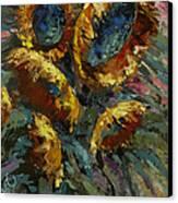'follow The Sun 2' Canvas Print by Michael Lang