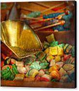 Food - Candy - One Scoop Of Candy Please  Canvas Print by Mike Savad