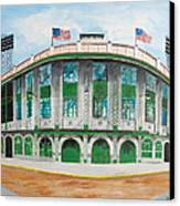 Forbes Field Canvas Print by Paul Cubeta