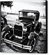 Ford Model T Film Noir Canvas Print by Bill Cannon
