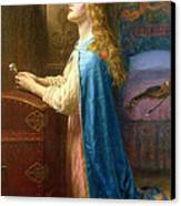 'forget Me Not' Canvas Print by Arthur Hughes