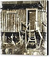 Forgotten Wooden House Canvas Print by Heiko Koehrer-Wagner