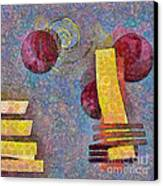 Formes - 08a Canvas Print by Variance Collections