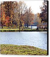 Fowler Lake 3 Canvas Print by Franklin Conour