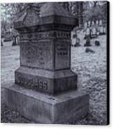 Frederick Douglass Grave One Canvas Print by Joshua House