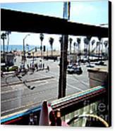 Freds Huntington Beach Canvas Print by RJ Aguilar