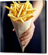 French Fries Canvas Print by David Munns