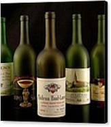French Wine Labels Canvas Print by David Campione