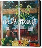 Fresh Produce Canvas Print by Micheal Jones