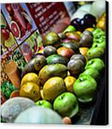 Fruit Stand Canvas Print by Paul Ward