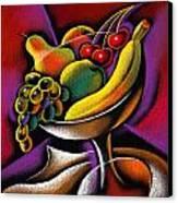 Fruits Canvas Print by Leon Zernitsky