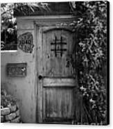 Garden Doorway 2 Canvas Print by Perry Webster