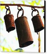 Garden Noah Bells 2 Canvas Print by Cheryl Young