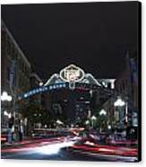 Gas Lamp Disctrict Canvas Print by Benjamin Street