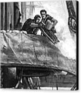Gatling Gun, 1878 Canvas Print by Granger