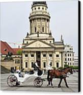 Gendarmenmarkt Berlin Germany Canvas Print by Matthias Hauser