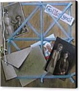 Geneaology Canvas Print by Janet McGrath