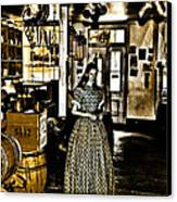 General Store Harpers Ferry Canvas Print by Bill Cannon