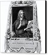 George Frideric Handel, German Baroque Canvas Print by Omikron